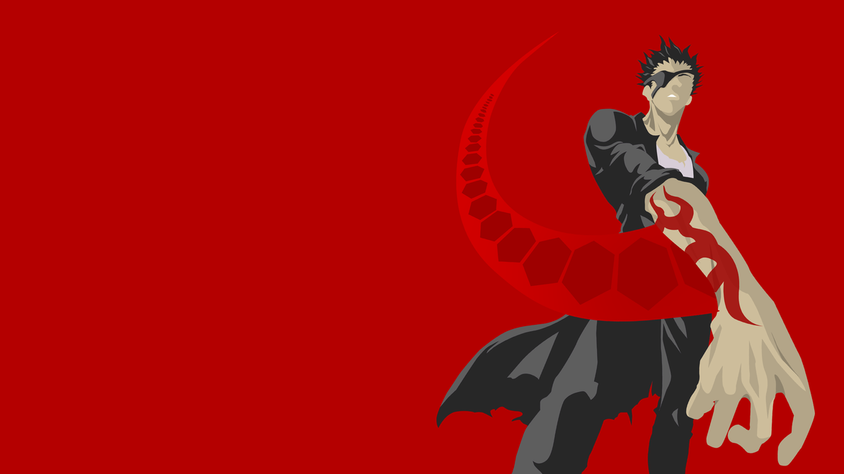 Deadman Wonderland Senji Wallpaper Red Version by ...
