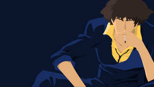 Spike Spiegel Dark Blue Wallpaper