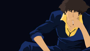 Spike Spiegel Darker Blue Version