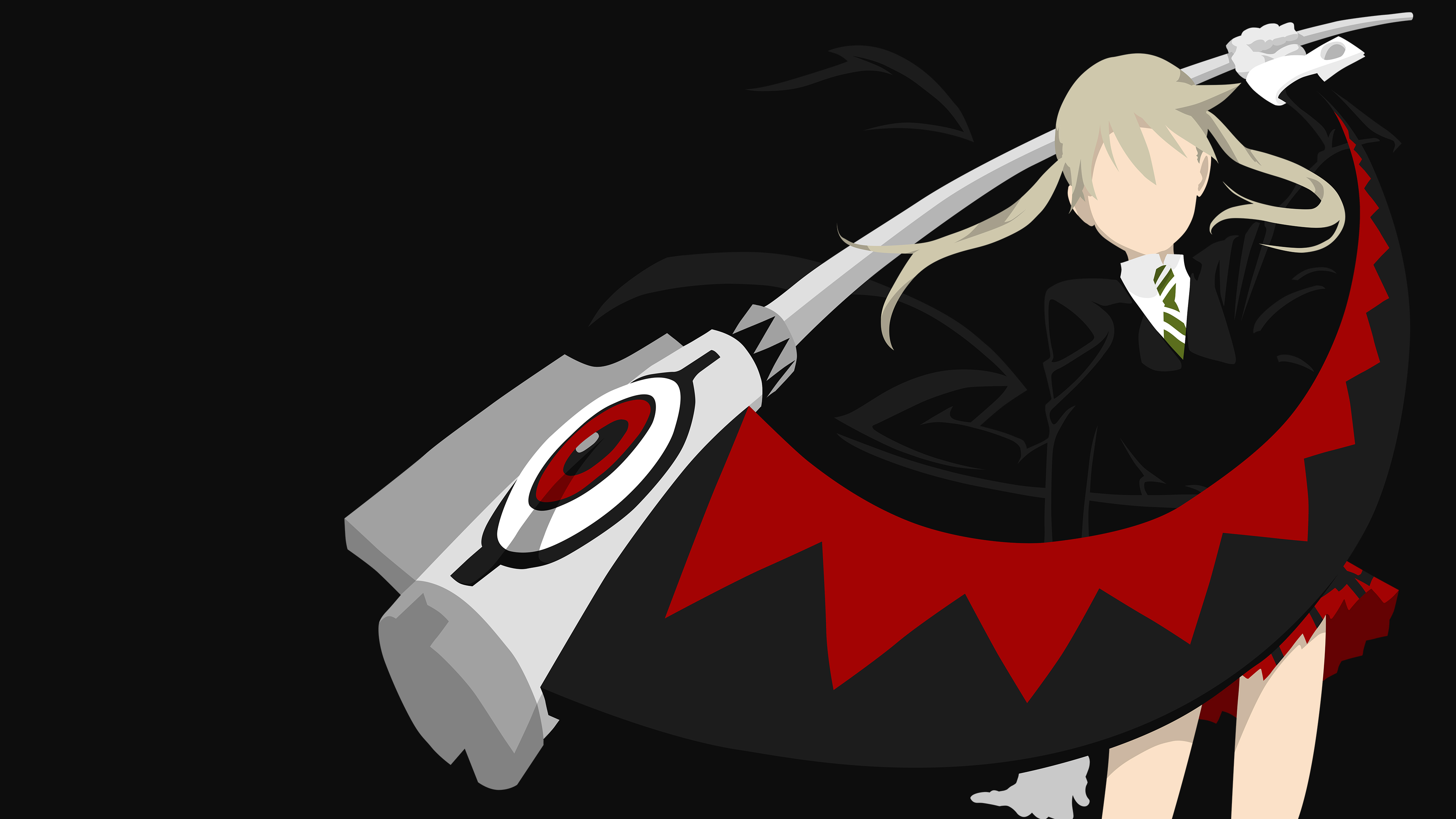Maka Albarn Dark Grey Wallpaper