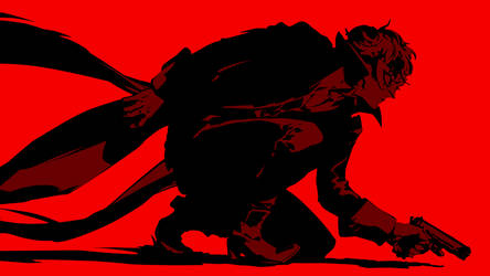 Persona 5 MC Red Version 2
