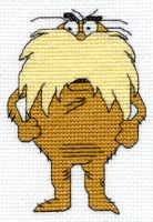 Lorax Cross Stitch by Krissay20