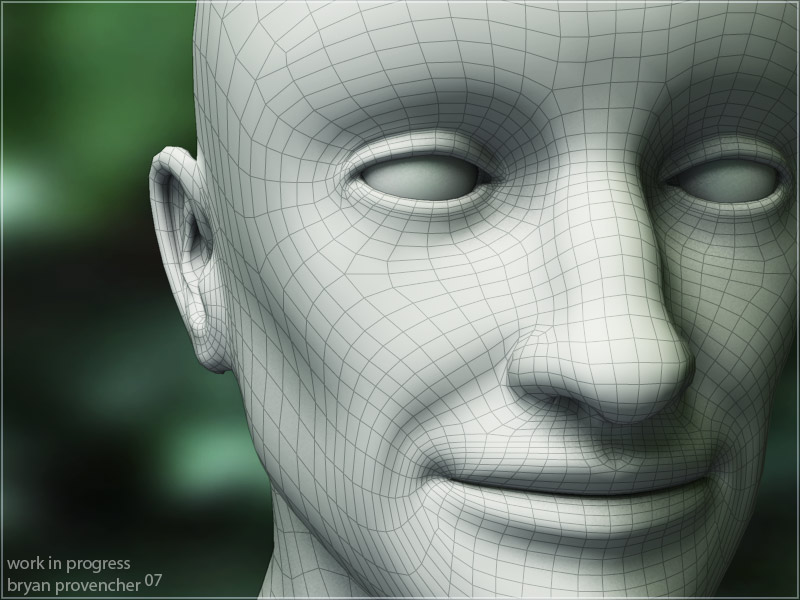 Face Rig Wireframe by bdpART on DeviantArt