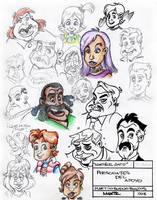 Martz Sketchbook 01 by Martzthecat