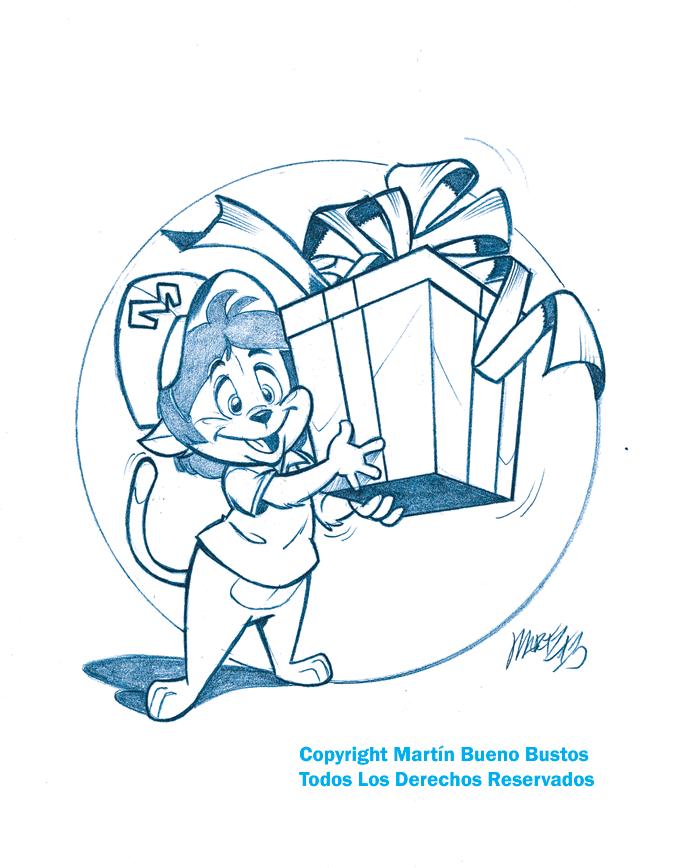 Happy Birthday! sketch by Martzthecat on deviantART