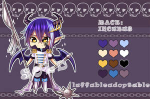 [CLOSED] ADOPTABLE INCUBUS No.2 by luffableadoptable