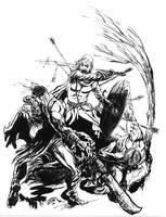 Boromir's Last Stand by bozac