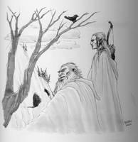 Legolas and Gimli - After the War by bozac