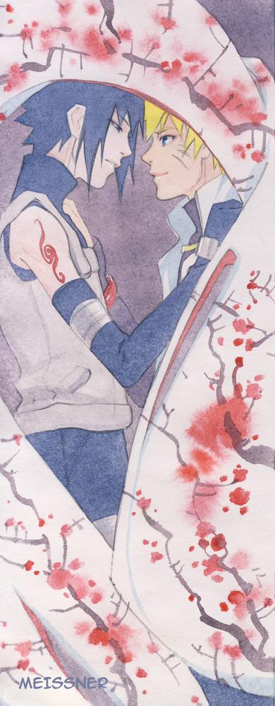 Sasuke and Naruto by Meissner-kun