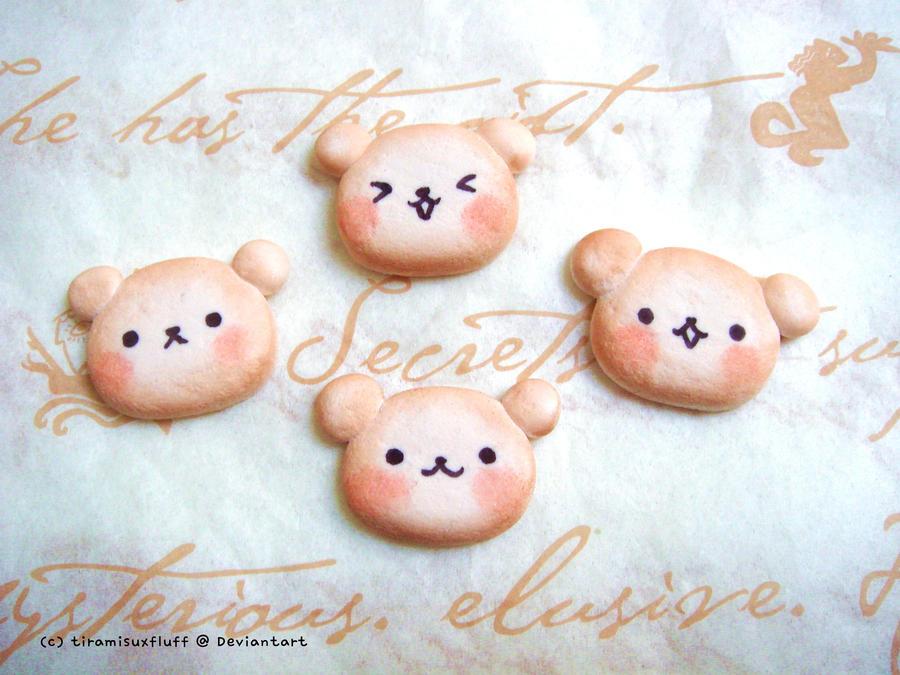 Bear cookies by tiramisuxfluff