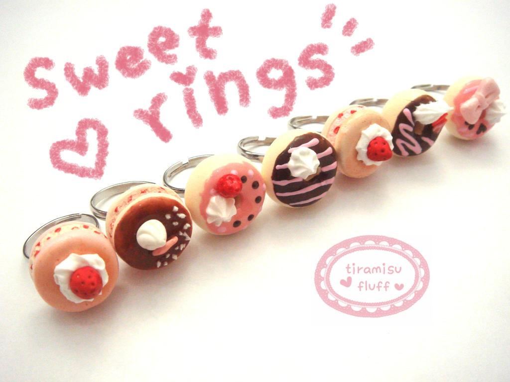 sweet rings by tiramisuxfluff