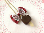 Bitten Ice Cream Necklace (MADE TO ORDER)