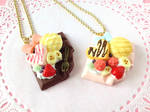 Sweet Chocolate Bar Necklaces