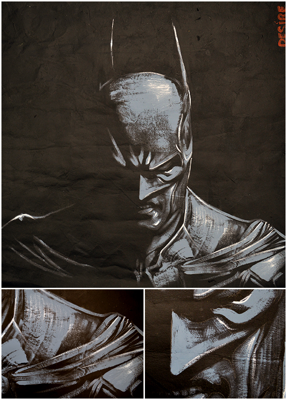 Batman... nuff said. by artmonkeyd