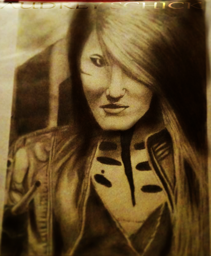Ashley Purdy Fan art by RedPineapple1 on DeviantArt