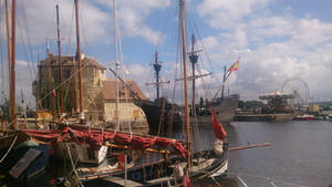 Magellan a Honfleur by louisdemirabert