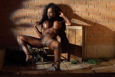 Felina tabouret erotique by louisdemirabert