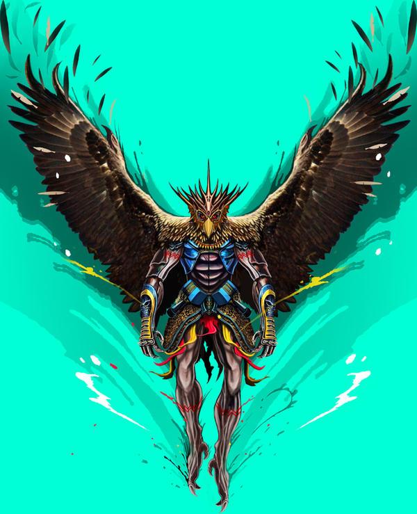 falcon warrior by lancechf