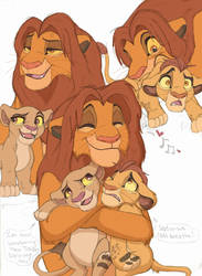 Simba and his babehs