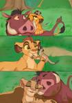 Timon and Pumbaa's Love...