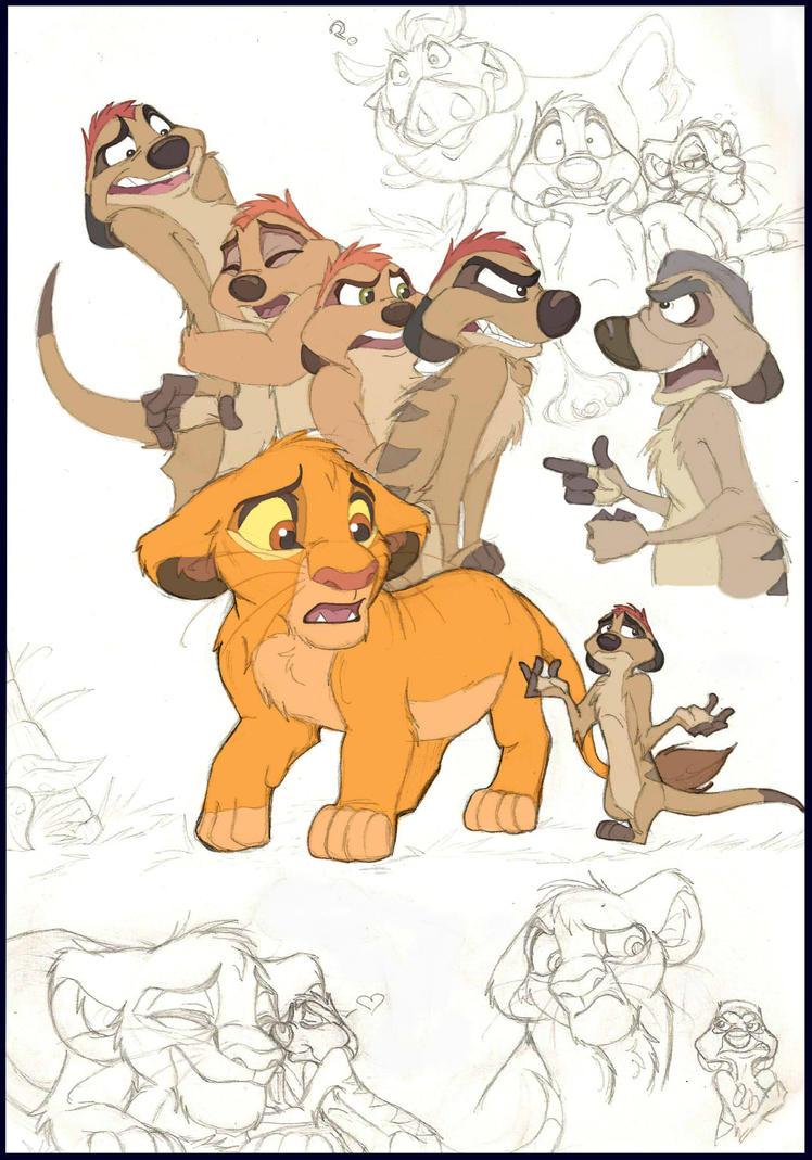 Timon's Family Reunion by Xx-JungleBeatz-xX