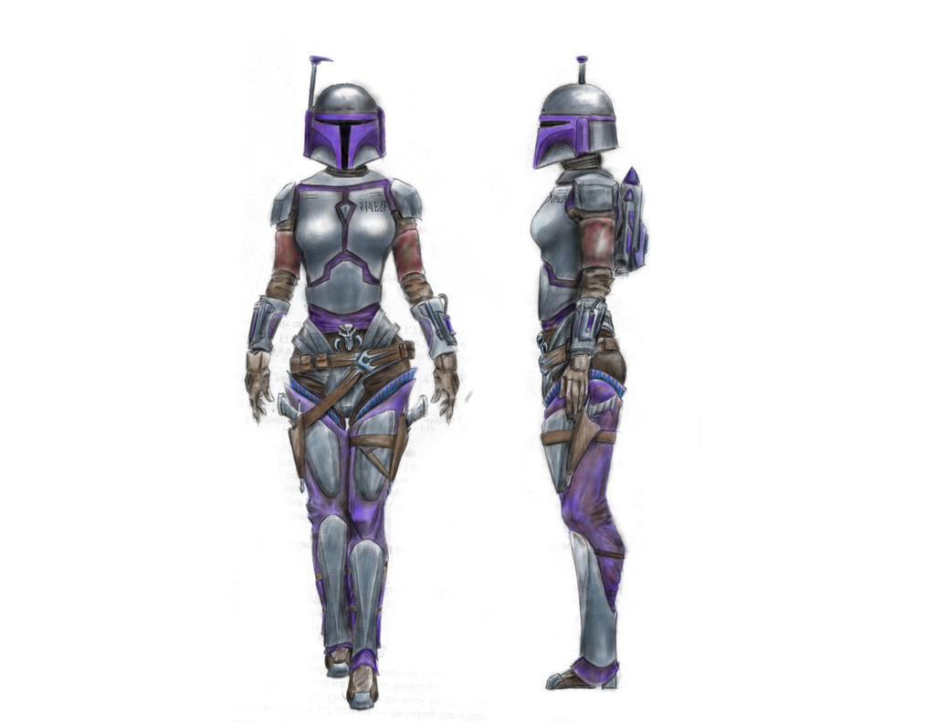 Female Mandalorian Armor Art - newhairstylesformen2014.com