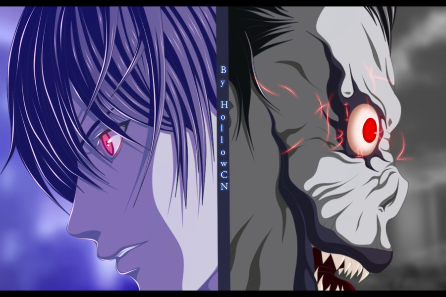 light and ryuk wallpaper - photo #16