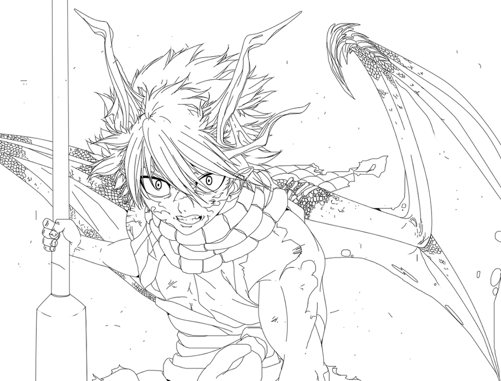 Natsu Dragon by HollowCN