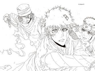 Bleach vs Naruto by HollowCN