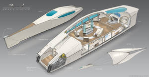 Space Yacht ' Zil'