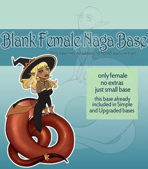 [P2U] Female Naga Base for Adoptables
