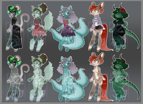 Chibi Furry Pack - Cheap Adopt Auction [Closed]