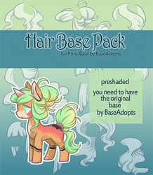 [P2U] - Hair Pack for Pony Base - 30pts by xaineko