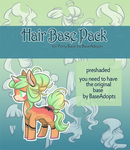 [P2U] - Hair Pack for Pony Base - 30pts