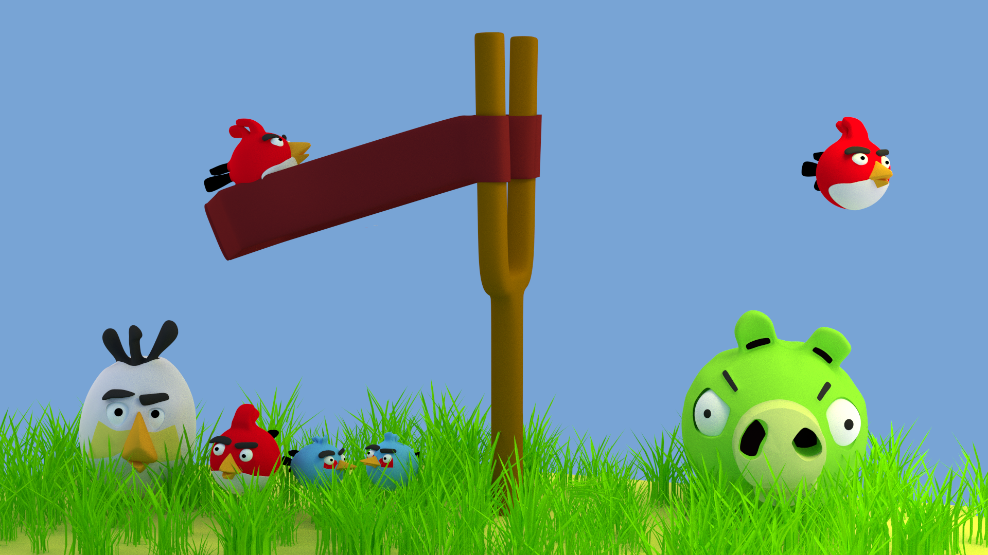 angry birds wallpaper for mobile hd