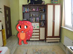 Flaky in my room!
