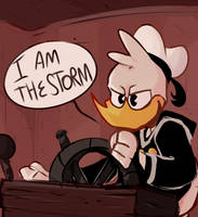 i AM the storm | ducktales by lowpoli