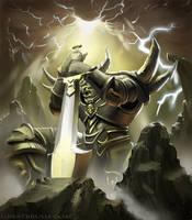 Orc Death Knight by ekarnopp
