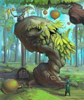 Tree Monster by ekarnopp