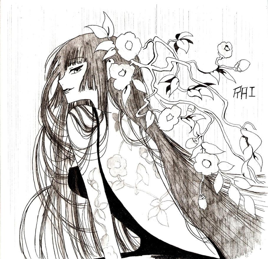 Ichihara Yuuko - xxxHolic by RaiJmH94