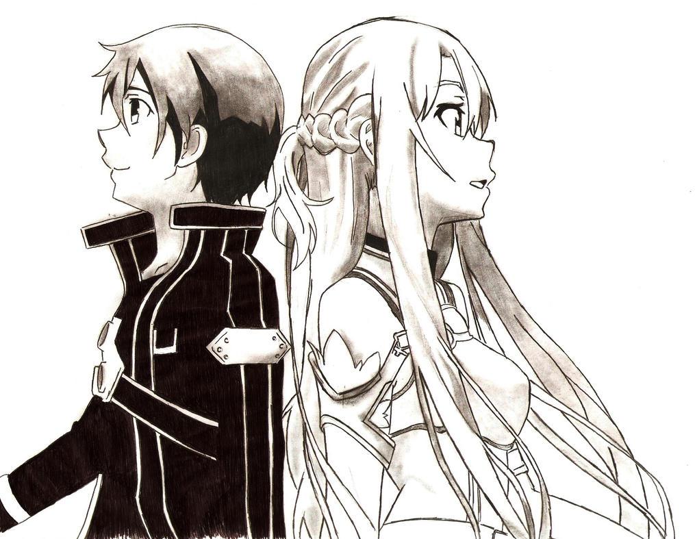 SAO - Asuna/Kirito by RaiJmH94