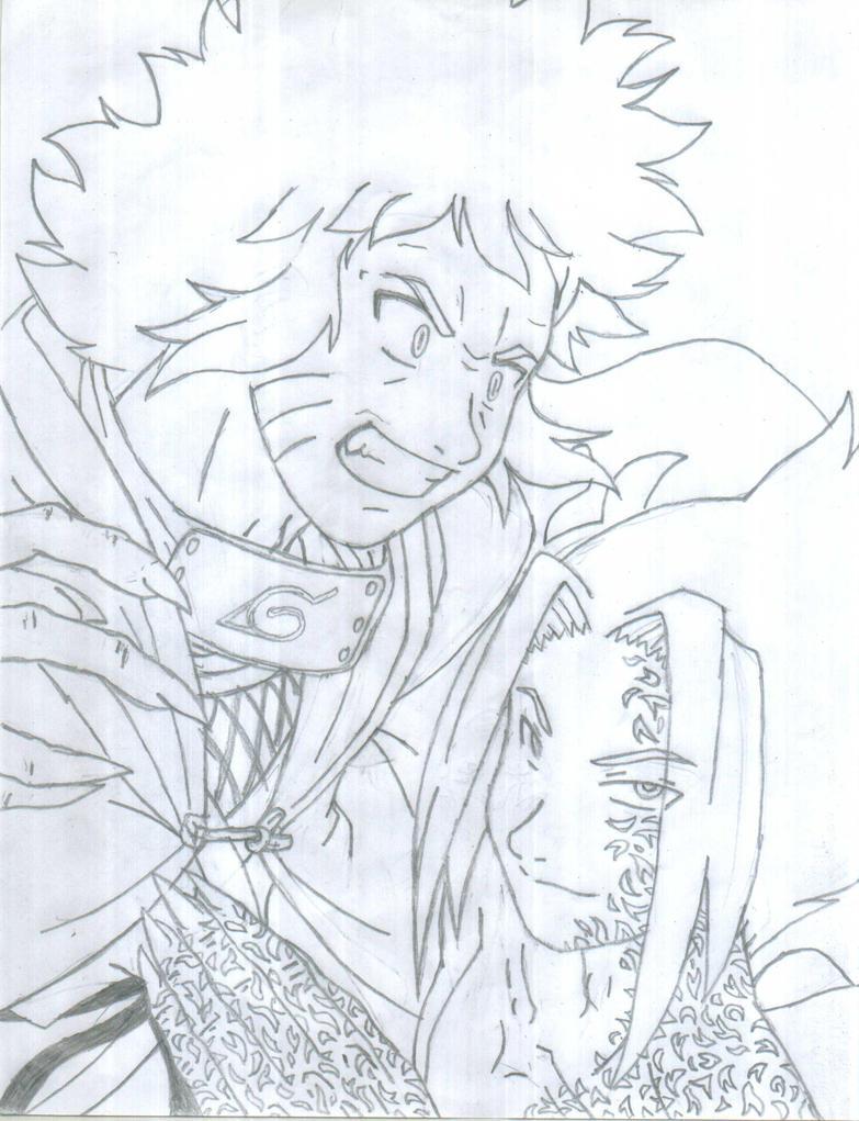 Naruto and Sasuke by Avian07