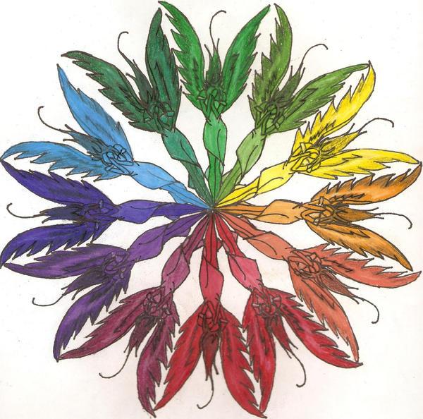 Creative Color Wheel Designs Ideas 45173 Timehd