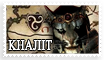 Skyrim Khajiit Stamp by WeirdHyena