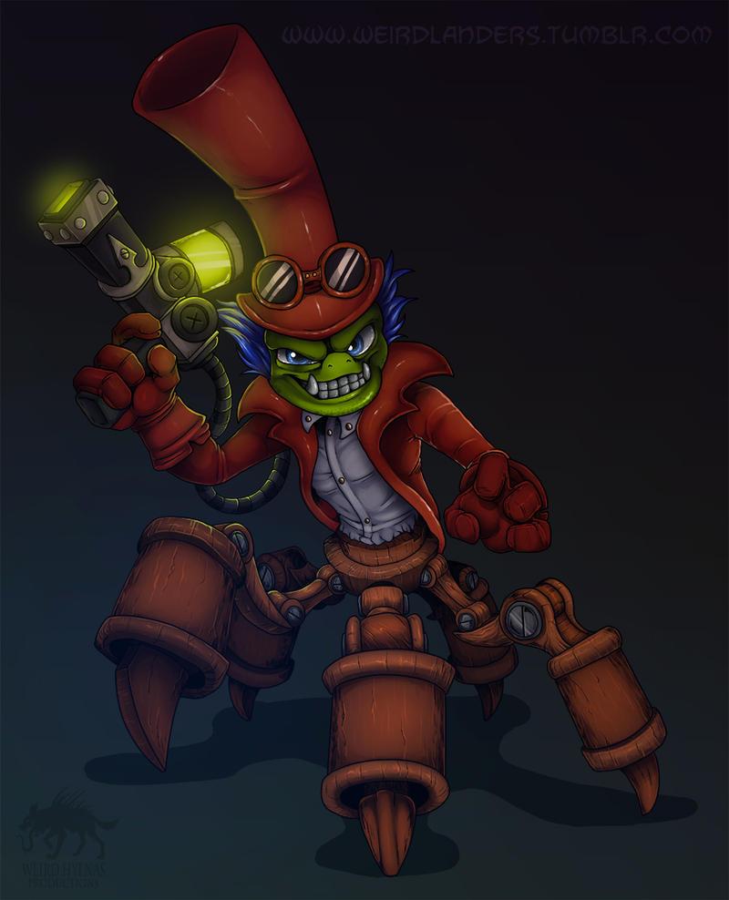 Skylanders : Dr. Krankcase by WeirdHyena