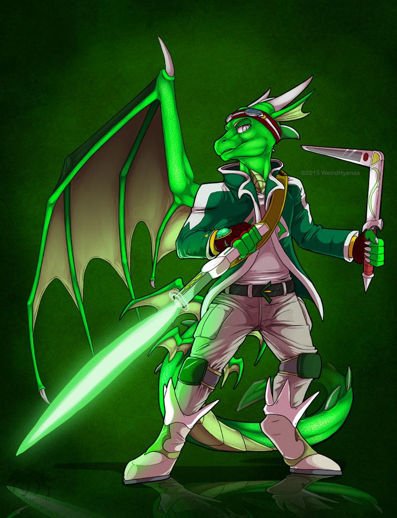 Commission : Rylus by WeirdHyenas