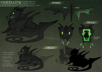 Kurosia : The Yoldahr by WeirdHyenas