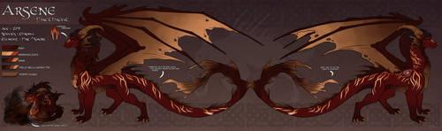 Feuriah's Dawn : Arsene Firethroat by WeirdHyenas
