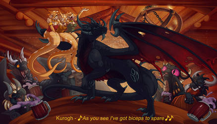 CE : No One Like Kurogh by WeirdHyenas