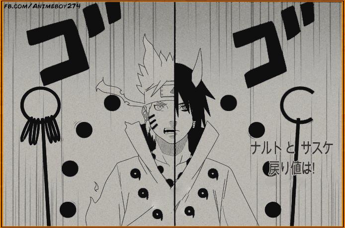 Naruto and Sasuke - Six Paths by Animeboy274s